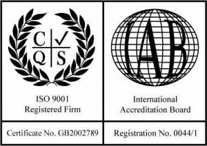 Avanti-EMG ISO certifier