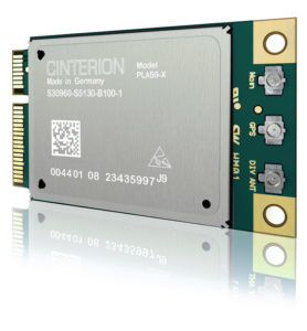 An image showing a Gemalto Cinterion Industrial IoT Modem Card