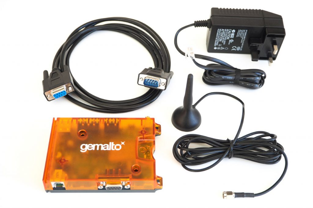 Image of EHS6T-USB Kit with Mains PSU Serial Cable and Mag-Mount Antenna
